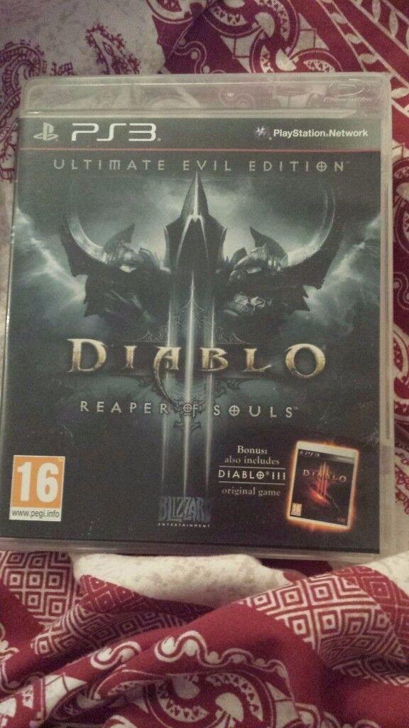 Diablo 3- Ultimate evil edition- Reaper of souls- Playstation 3
