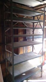 heavy duty garage shelf unit