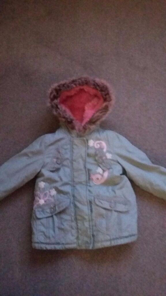 Age 3-4 girls winter coat