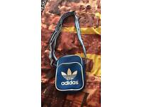 Blue Adidas Man Bag