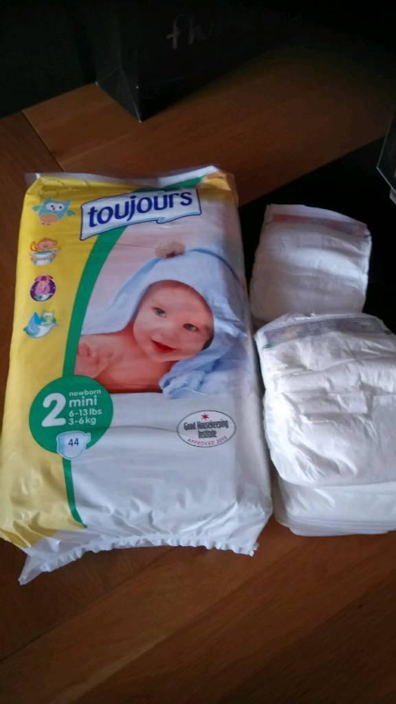 Size 2 nappies bundle £3
