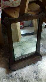 Lovely mirror with shelf
