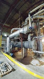 Fromson Stainless Steel Shell & Tube Heat Exchanger 1940 ft2