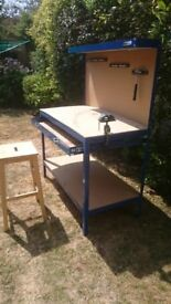 Childs/Hobby workbench and stool