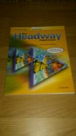 New headway English learning course book