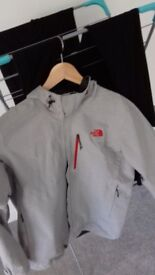 North Face Gore-Tex Mens Large Grey Jacket RRP £139.99
