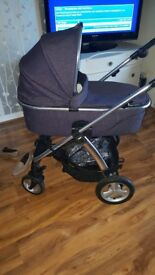 Mamas and Papas Sola 2 Pram, buggy and car seat (full package). Excellent condition Sola 2.