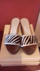 Size 4 heeled sandals