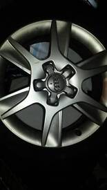 Audi a3 alloys with good tyres