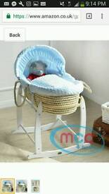 baby boy mosses basket