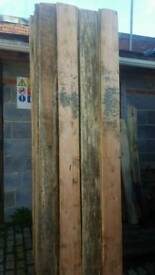 "8ft boards for sale. 7"" x 1"" thick"