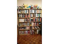Tall bookshelves x2 (£25 per case, can be sold separately)