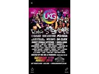 UKG Chronicle tickets