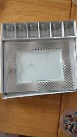 John Lewis glass set.Unused.