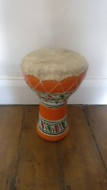 Hand painted Ceramic Hand drum