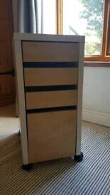 Ikea Micke Filing Cabinet & drawers