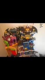 Batman/joker imaginext bundle
