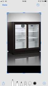 commercial undercounter drinks chillerfull working only £180 price