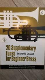 20 Supplementary Tunes for Beginner Brass