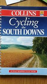 Cycling the southdowns book with maps