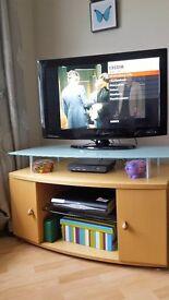 TV Unit in Beech