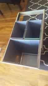 Brand new integrated bin drawer