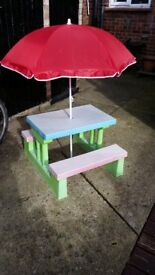Childrens outdoor seats