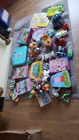 Massive bundle of toys