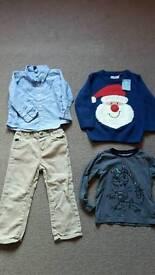Bundle boys clothes size 18-36 mths.