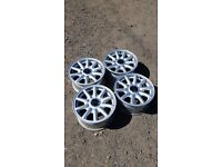 Very clean Audi alloy wheels