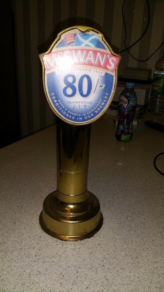 Brass bar tap mcewans 80-/