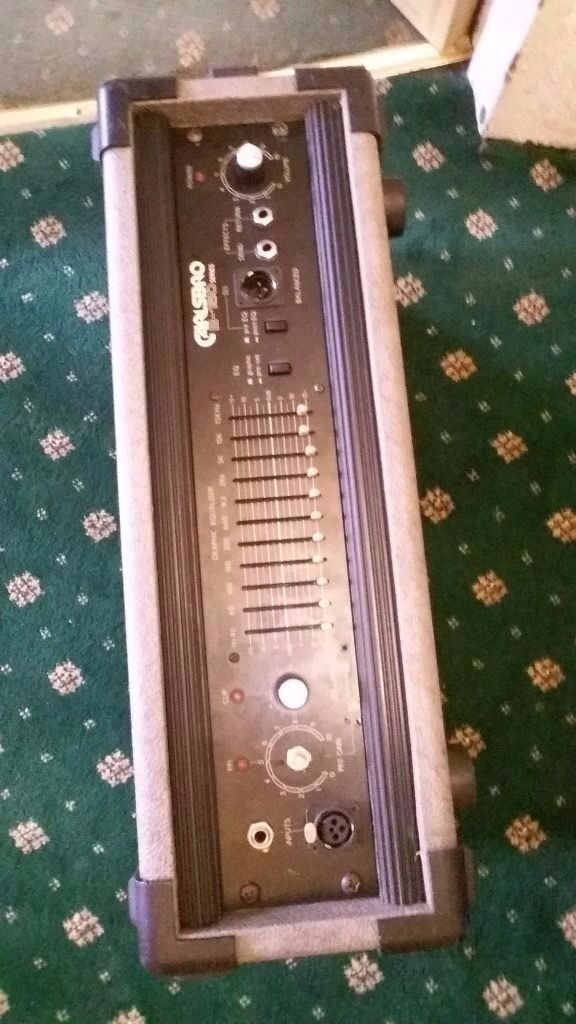 head bass carlsbroin Bradford, West YorkshireGumtree - Head bass carlsbro b150 series used work perfect clean sound can swap for a good track recorder studio recorder or good microphone condenser or dynamic