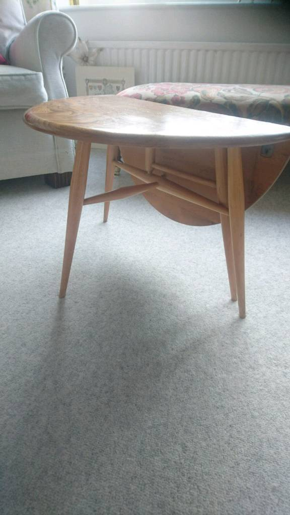 An ercol 308 folding coffee table in excellent condition