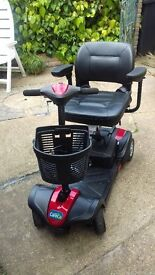 Travel Mobility Scooter (CareCo Zoom Plus, up to 14 mile Range!
