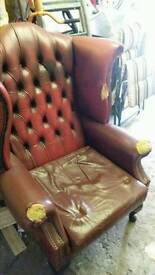 Chesterfield chair....