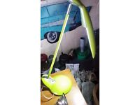 Retro funky green angle pose lamp cost £49.99 selling for £9.99