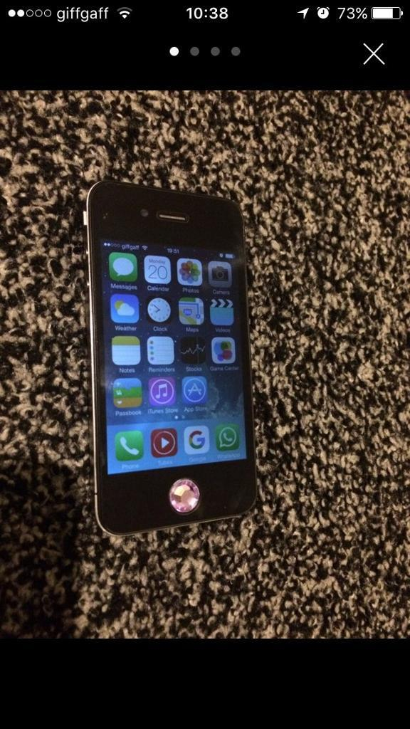 iPhone 4 16gb unlockedin Burnley, LancashireGumtree - iPhone 4 16gb unlockedComes with boxThere is a glass protector already on