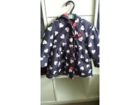 4 autumn/winter coats for girls 18-24months and 2-3 yrs