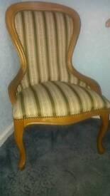 Reproduction nursing chair