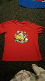 Boys Quicksilver t shirt age 4