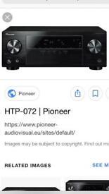 Pioneer HTP 072 AV receiver