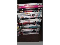 72 DVD's Various Titles