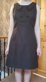 Next 60's Style Brown Dress Size 10