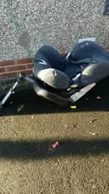 Car seat isofix