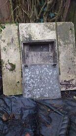 Concrete Coal bunker/ store