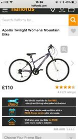 Brand new ladies bike OPEN TO ALL OFFERS