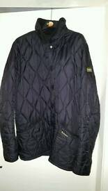 Mens barbour coat