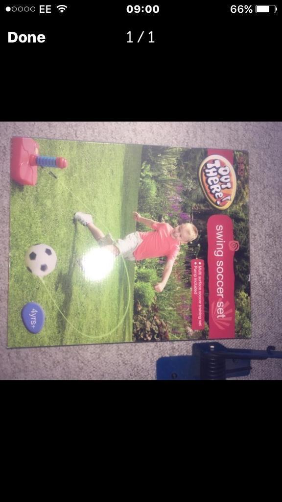 Brand NEW football soccer set