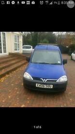 Cheap Vauxhall combo 1.3 diesel van
