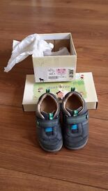 Start rite blue leather shoes, size 6 G